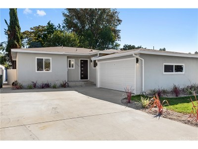 Reseda Single Family Home For Sale: 7242 Claire Avenue