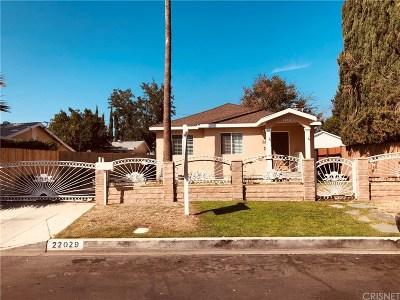 Canoga Park Single Family Home For Sale: 22029 Covello Street
