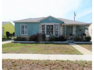 Compton Single Family Home For Sale: 1509 South Butler Avenue