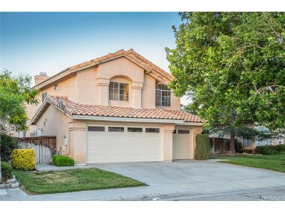 Lancaster Single Family Home For Sale: 44508 Shadowcrest Drive
