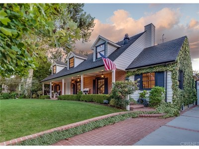 Studio City Single Family Home For Sale: 4007 Ethel Ave.