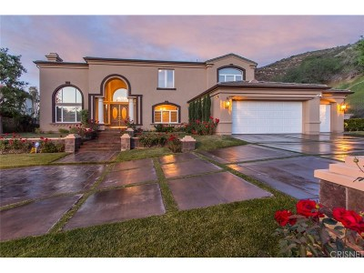 Calabasas Single Family Home For Sale: 25301 Prado De Los Arboles