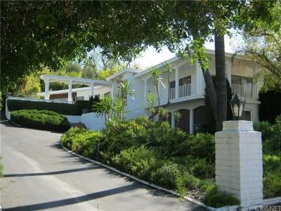 Tarzana Single Family Home For Sale: 4977 Brewster Drive