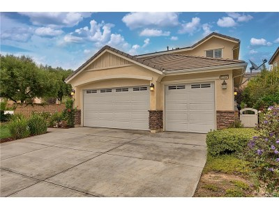 Saugus Single Family Home For Sale: 22507 Leaf Spring Court