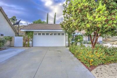 Saugus Single Family Home For Sale: 20707 Dan Court
