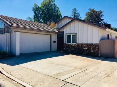 Woodland Hills Single Family Home For Sale: 4531 Don Pio Drive