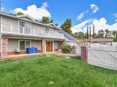 Saugus Single Family Home For Sale: 28171 Oaklar Drive