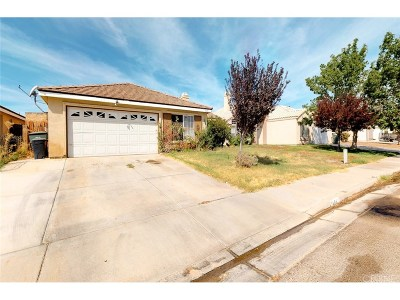 Rosamond Single Family Home For Sale: 3401 Huron Drive