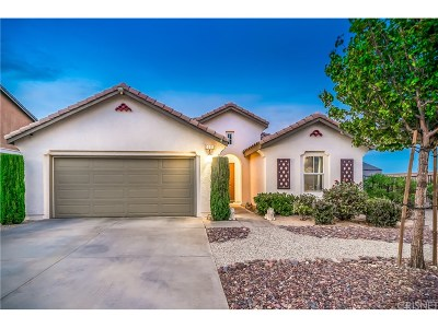 Palmdale Single Family Home For Sale: 1641 Korat Drive