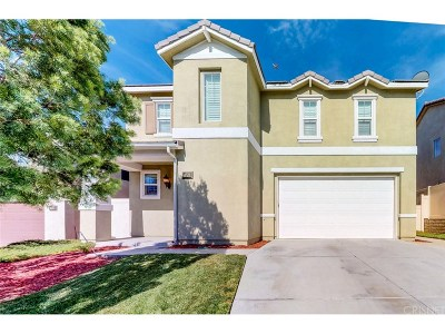 Canyon Country Single Family Home For Sale: 27056 Cherry Willow Drive
