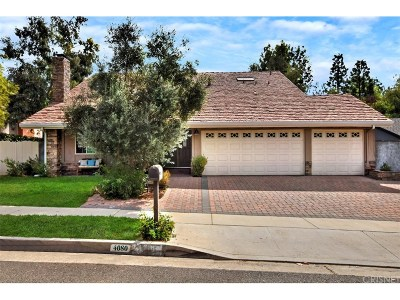 Calabasas Single Family Home Sold: 4080 Declaration Avenue