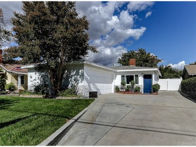 Newhall Single Family Home For Sale: 24944 Newhall Avenue