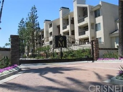 Woodland Hills Condo/Townhouse For Sale: 21450 Burbank Boulevard #312