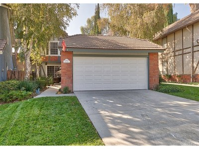 Canyon Country Single Family Home For Sale: 19836 Pandy Court