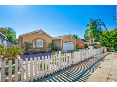 San Fernando Single Family Home For Sale: 1410 Celis Street