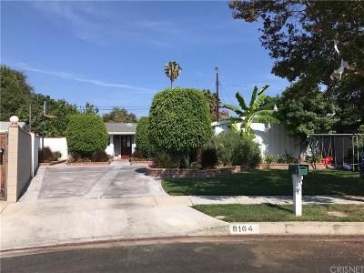 Reseda Single Family Home For Sale: 8164 Calvin Avenue