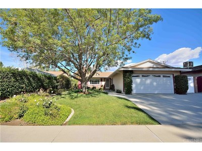 Saugus Single Family Home For Sale: 22527 Espuella Drive
