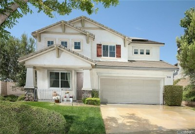 Newhall Single Family Home For Sale: 24169 Matthew Place