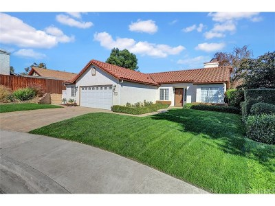 Moorpark Single Family Home For Sale: 4492 Pine Ridge Court