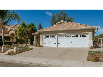 Simi Valley Single Family Home For Sale: 291 Cliffwood Drive