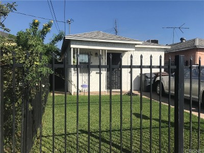Compton Single Family Home For Sale: 819 West Cherry Street