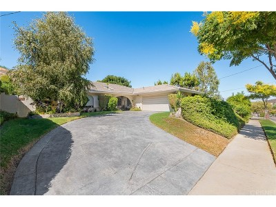 Calabasas Single Family Home Sold: 22455 Liberty Bell Road