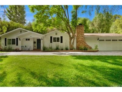 Tarzana Single Family Home For Sale: 4859 Topeka Drive