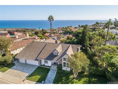 Malibu Single Family Home For Sale: 24622 Skyline View Drive