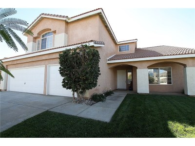 Lancaster Single Family Home For Sale: 42109 Shadow Hills Drive