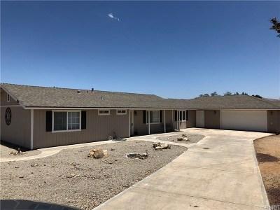 Tehachapi Single Family Home For Sale: 21610 Woodford Tehachapi Rd