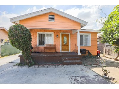 Los Angeles Single Family Home For Sale: 214 East 78th Street