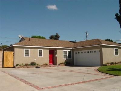 Reseda Single Family Home For Sale: 17957 Burton Street