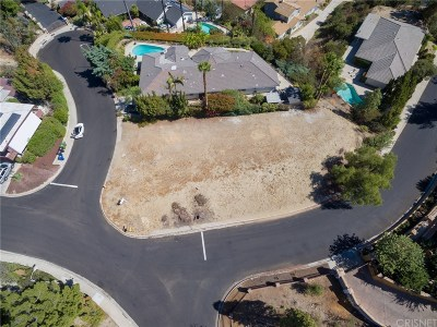 Encino Residential Lots & Land For Sale: 17354 Toquet Drive