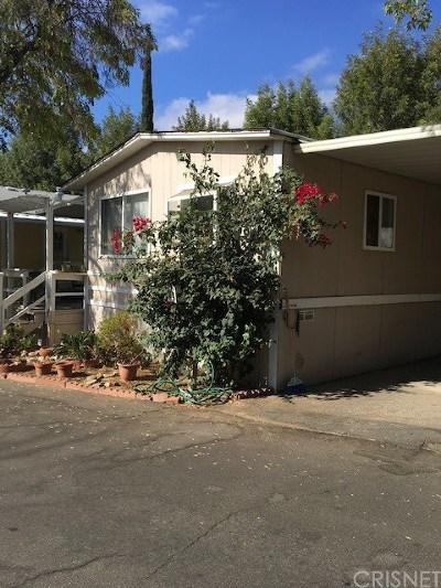Woodland Hills Mobile Home For Sale: 4201 Topanga Canyon #62