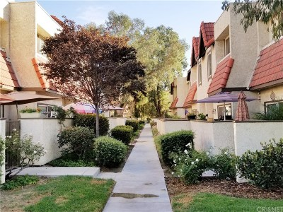 Canyon Country Condo/Townhouse For Sale: 17955 River Circle #2