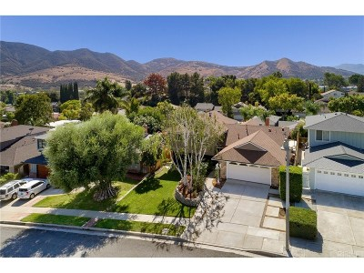 Agoura Hills Single Family Home For Sale: 5551 Rainbow Crest Drive
