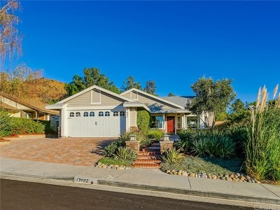 Saugus Single Family Home For Sale: 27842 Carnegie Avenue