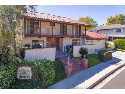 Woodland Hills Single Family Home For Sale: 24728 Eilat Street