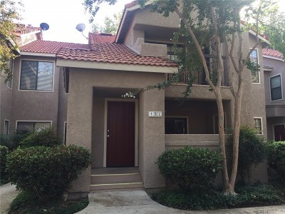 Simi Valley Condo/Townhouse For Sale: 2387 Archwood Lane #190