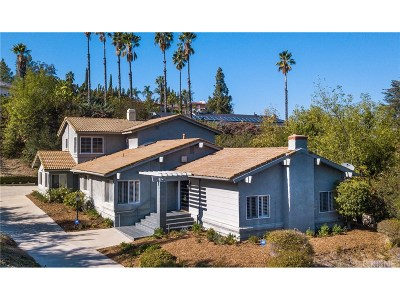Encino Single Family Home For Sale: 17348 Quesan Place