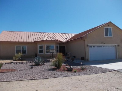 Rosamond Single Family Home For Sale: 4652 Sweetser Road