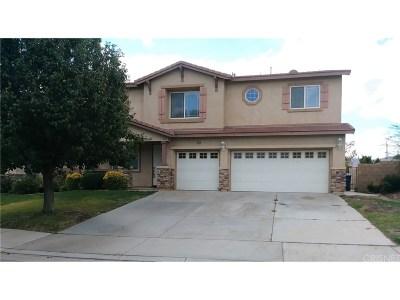 Palmdale Single Family Home For Sale: 2638 Trudeau Lane