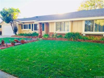 Porter Ranch Single Family Home For Sale: 10551 Yolanda Avenue