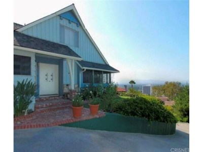 Sherman Oaks Single Family Home Sold: 14614 Round Valley Drive