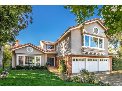 Calabasas Single Family Home Sold: 22314 Cairnloch Street