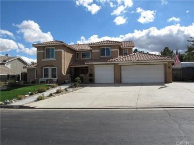 Palmdale Single Family Home For Sale: 5560 Avenida Entrada