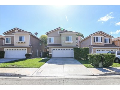 Stevenson Ranch Single Family Home For Sale: 25454 Fitzgerald Avenue