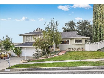 Agoura Hills Single Family Home For Sale: 30612 Rigger Road