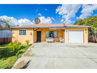 San Fernando Single Family Home For Sale: 673 South Huntington Street
