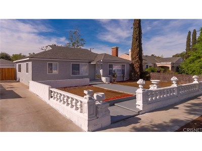 North Hollywood Single Family Home Active Under Contract: 7515 Lemp Avenue